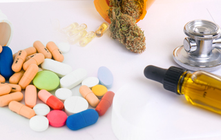 how do i space take cbd oil and other medications