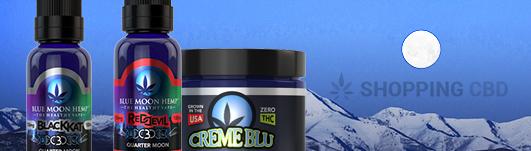 blue moon hemp cbd products