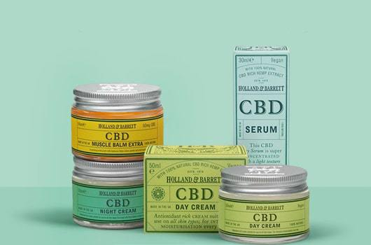 holland and barrett cbd