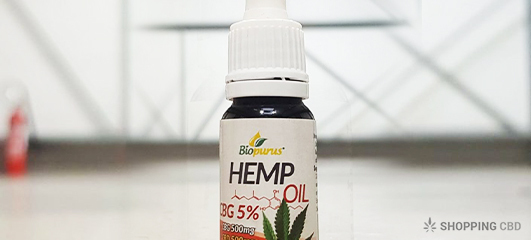 5 organic cbd oil (500mg in 10ml) biopurus uk