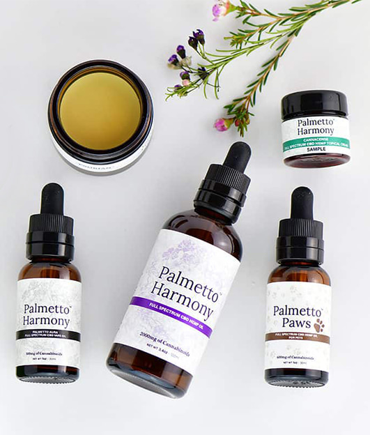 cbd oil palmetto harmony