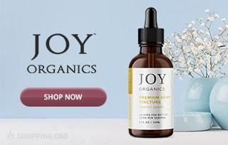 Joy Organics CBD banner mob